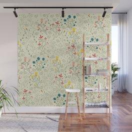 Flowers pattern Wall Mural