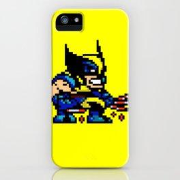 Wolvey Pixels iPhone Case