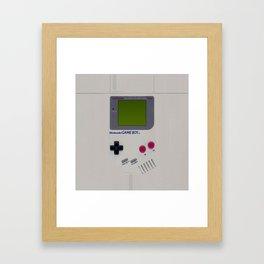 Vintage Game Boy Classic Framed Art Print