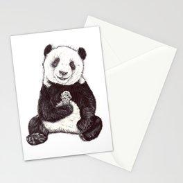 Panda Ice Cream Stationery Cards