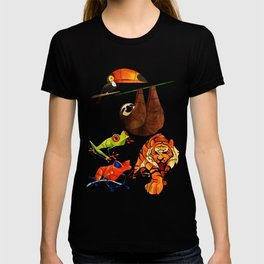 Rainforest animals 2 T-shirt