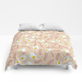 Eggs and bacon Comforters