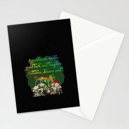 Leprecaun Party Stationery Cards