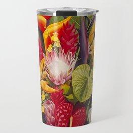 Tropical Arrangement #2 Travel Mug