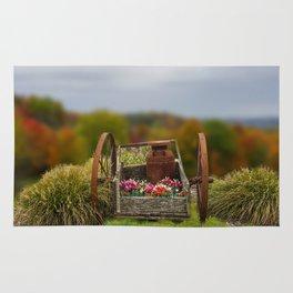 Flower Cart Rug