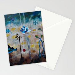 Swan & Lotus Garden Stationery Cards