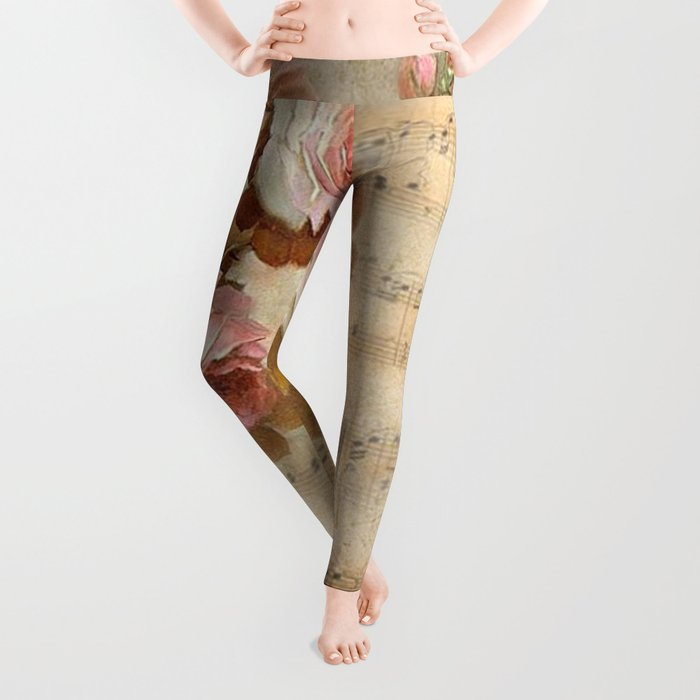 Vintage Music #5 Leggings