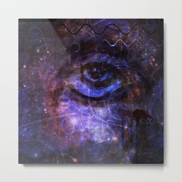 Wounded  Metal Print