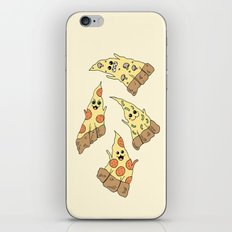 Ghost Pizzas iPhone & iPod Skin