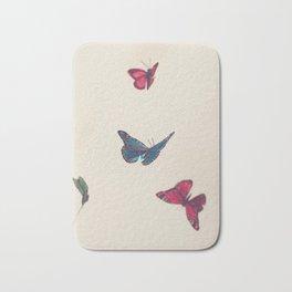 butterflies Bath Mat