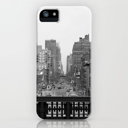 NYC Black & White iPhone Case
