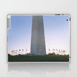 Flag ring around the Washington Monument Laptop & iPad Skin