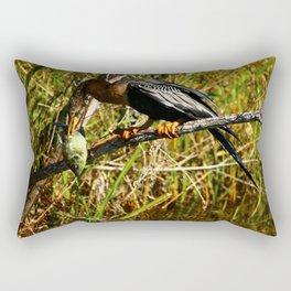 A Colorful Meal Rectangular Pillow