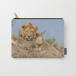 Sleeping Lioness Carry-All Pouch
