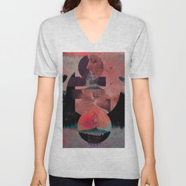 Soul behind the mirrors Unisex V-Neck