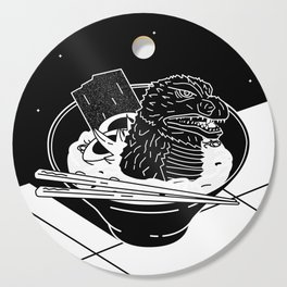 Godzilla Ramen Cutting Board