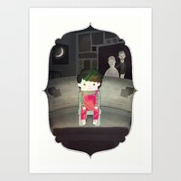 toddler Art Prints featuring Doppler Toddler by John Spriggs