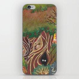 sylvan forest iPhone Skin