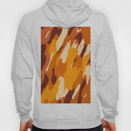 brown yellow and dark brown painting abstract background Hoody