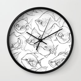 Aquarium Wall Clock