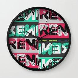 Renegades Drip... Wall Clock