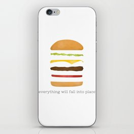 Everything Will Fall into Place iPhone Skin