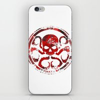 hydra iPhone & iPod Skins featuring HYDRA by Trey Crim