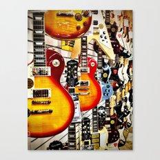 Musical Guitars Canvas Print