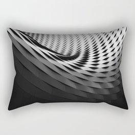 architecture black white Rectangular Pillow