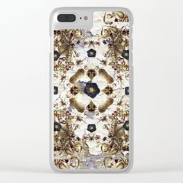 Nightshade and Black Hellebore Clear iPhone Case