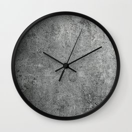Old Leather Book Cover Lichen Wall Clock