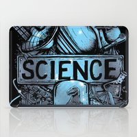 science iPad Cases featuring Science by Crumblin' Cookie