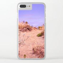 Samoa Dunes Trail Clear iPhone Case