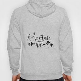 Adventure Awaits Inspirational Wall Art Adventure Nursery Decor Nursery Wall Art Follow Your Arrow A Hoody