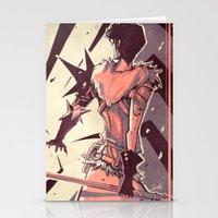 dragon age Stationery Cards featuring Dragon Age: Marian Hawke by Sara Cuervo