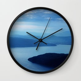 Lac d'Annecy Wall Clock