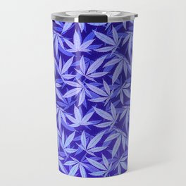 Purple Haze - Cannabis / Hemp / 420 / Marijuana  - Pattern Travel Mug