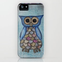 Owl Hoot iPhone Case