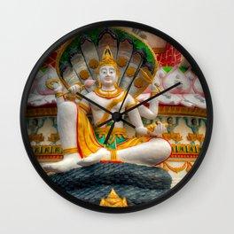 Lord Vishnu Thailand Temple Wall Clock