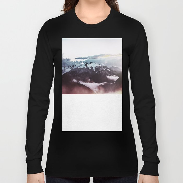 Faded mountain Long Sleeve T-shirt