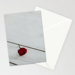 Close up minimalistic rose Arlington memorial | Travel Photography | Washington D.C., America (USA) Stationery Cards