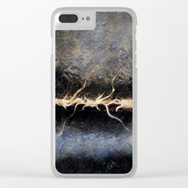 A thorny night Clear iPhone Case