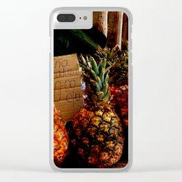 Cuban Fruit sale Clear iPhone Case