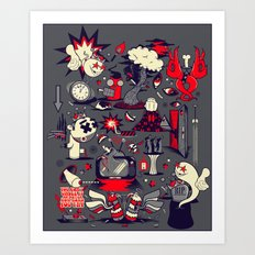 From The Womb To The Tomb Art Print