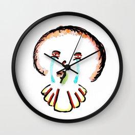 Sad Clown Wall Clock