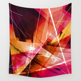 Outbreak - Geometric Abstract Art Wall Tapestry