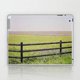 bluebonnet field Laptop & iPad Skin