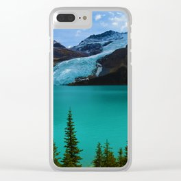 Berg glacier from Berg Lake, BC Clear iPhone Case