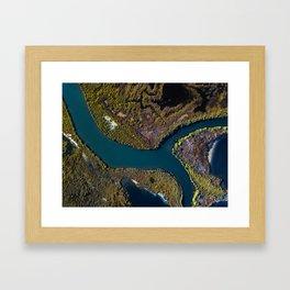 Marshes Framed Art Print