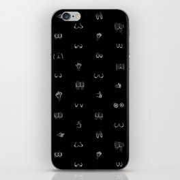 boobies and butts iPhone Skin